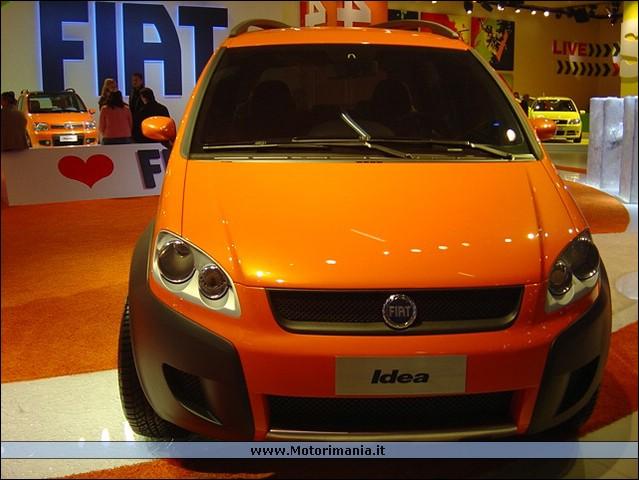 2008 Fiat Idea 5terre Concept Car Pictures